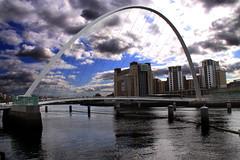 Newcastle Gateshead Millennium footbridge (Ianmoran1970) Tags: bridge river foot millenium tyne eos50d ianmoran ianmoran1970
