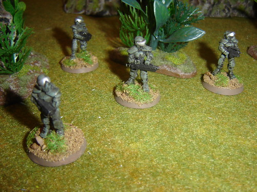 EuroFed Marines - 2nd Squad stay frosty