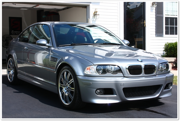 BMW M3: Sealed with Blackfire Wet Diamond, and then topped with E-zyme Natura Wax