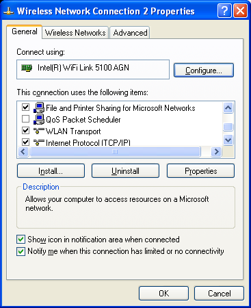 XP FOR INTEL WINDOWS DRIVER DOWNLOAD WIRELESS
