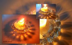 earth hour 2010 (YAZMDG (16,000 images)) Tags: windows light abstract art glass collage glasses candle arty artistic photomontage reflective lit candleholder vitrines verre verres yaz earthhour yazminamicheledegaye yazmdg ystudio surfces