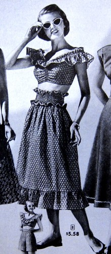 Shirred Skirt Inspiration from the Sears Catalog