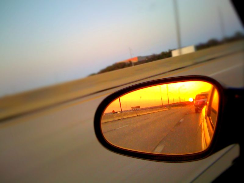iPhone photography - Rear View Mirror