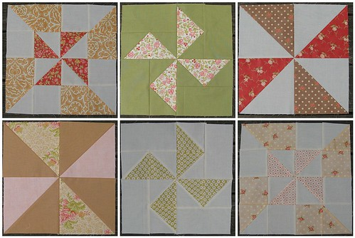 Patisserie Quilt | 1st Six Blocks