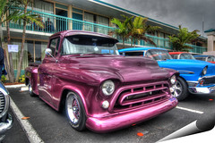 57 Chevy truck (Bill Strong) Tags: chevrolet truck florida pickup chevy 1957 hdr photooftheday chev cocoabeach photomatix 3exp gmfyi