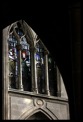 St-Severin, Paris (Kotomi_) Tags: city trip travel holiday paris church town interior gothic stainedglass stseverin