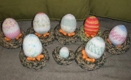 HAPPY EASTER!!  Eggs with Leggs