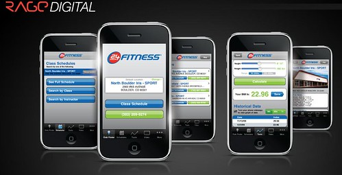 digital design interface rage hour user 24 fitness development app iphone my24