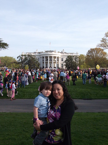 Jack and I at the White House Easter Egg Roll