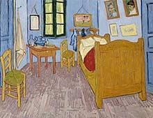 Van Gogh, The Artist's Bedroom at Arles, 1889