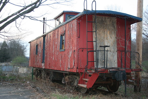 Caboose in Mansfield