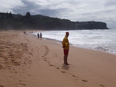 The Lifeguard (Dawn Woodhouse) Tags: summer sand surf sydney swimmers palmbeach avalon northernbeaches wow1 surfrescue whalebeach
