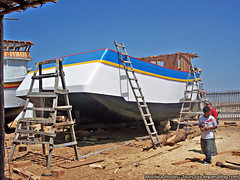 Building boats in Santa Rosa