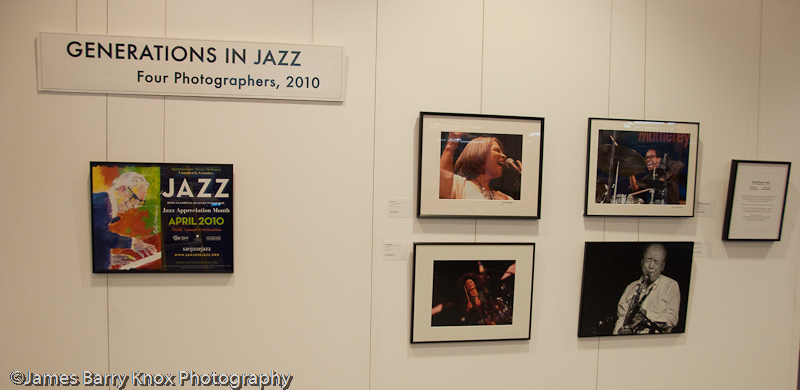 Generations in Jazz: Four Photographers