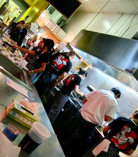 Kitchen Staff at Ludobites 4.0
