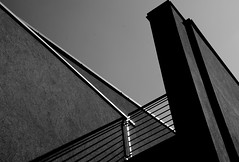 aggressivity (montel7) Tags: bw lines shadows geometry bn ombre diagonal linee
