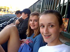At the Mississippi Braves game v Tennessee Smokies