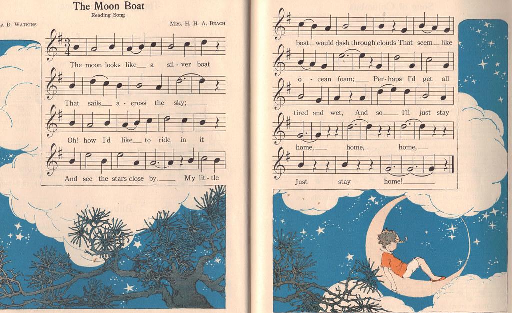 The Moon Boat; illustrator Shirley Kite