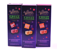 Wonka Fruit Jellies Boxes