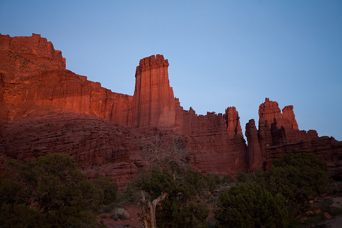 Fisher Towers at Sunset-2