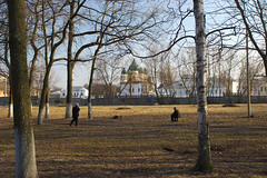 IMG_3510 (Mike Pechyonkin) Tags: park house tree church fence yaroslavl 2010
