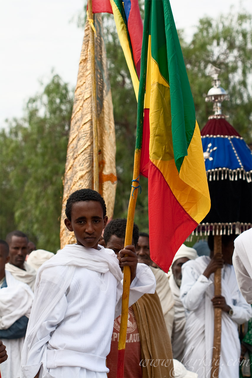 Flag-Bearer #1, Axum, Ethiopia, 2009