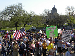 Tea Party tax day protest 2010