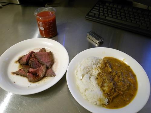 肉とカレー