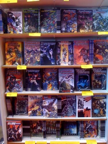 Tons of comics