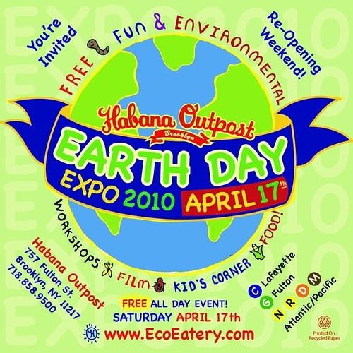 Earth Day at Habana Outpost