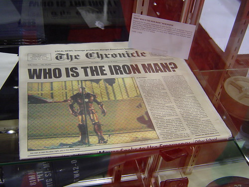 Iron Man Prop Auction