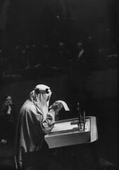 Saud Ibn Abdul Aziz [RF: Saudi Arabia RF] (K_Saud) Tags: ny reading king unitedstates saudi arabia speech abdul rf aziz ibn saud timeincown 937375