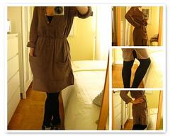 9 ~ Saturday's Closet (Hello Twiggs) Tags: brown black ikea socks clothing bedroom fdsflickrtoys dress patterns clothes leggings bedlinen lozenge bloganistas saturdayscloset
