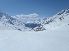 Abfahrt in Richtung Blatten VS (mboelli) Tags: skitour lötschenlücke