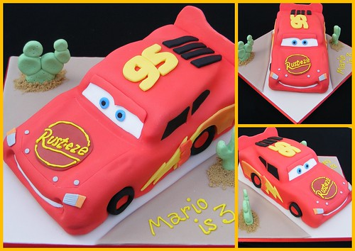 disney pixar cars cakes. Lightning McQueen (Cake Lady