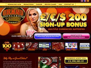 Grand Online Casino Home