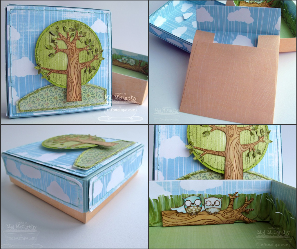 MFT Sheltering Tree 4.5 inch square box template collection