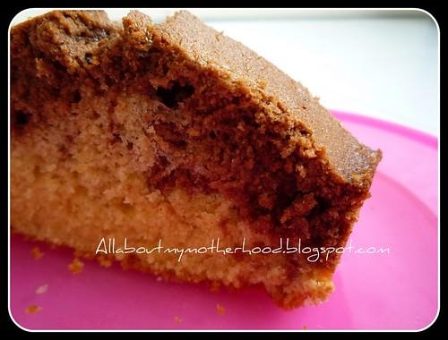 Orange Marble Cake