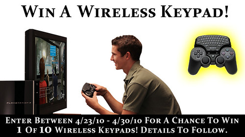 Wireless Keypad Sweepstakes