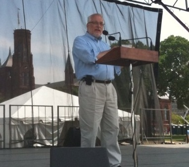 NRCS Chief Dave speaks at Earth Day, National Mall, Washington, DC.