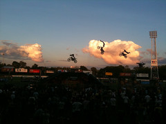 iPhone Home (Rantz) Tags: sky clouds crazy crowd motorcycles australia darwin explore dirtbikes stunts northernterritory iphone magnificentseven crustydemons daredevils magnificent7 rantz sooc mag7 iphonephotography iphonelomo iphonelomography iphoneography magseven