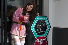 Vídeo del Gundam Cafe