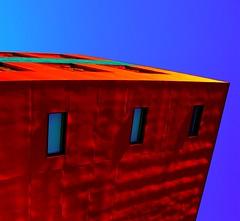 Ripple (Arni J.M.) Tags: blue windows red sky building window wall architecture geotagged iceland nikon waves ripple ripples nikkor geotag hafnarfjrur sland islande geotags hafnarfjordur d80 nikond80 nikkor18135mm afsnikkor18135mm13556ged