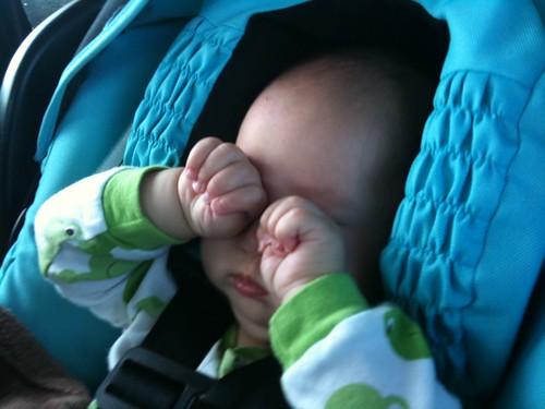 Such a sleepy baby!