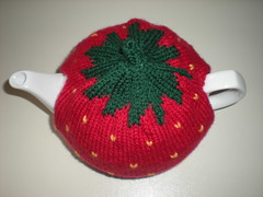 Knitting Pattern For Strawberry Tea Cosy : Ravelry: Strawberry Tea Cosy pattern by Katya Frankel