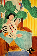 Henri Matisse - Small Rumanian Blouse with Foliage at Baltimore Art Museum (mbell1975) Tags: portrait usa art museum painting us md gallery with small maryland baltimore blouse foliage impressionism matisse impression henri fauvism rumanian