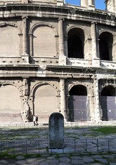 Colosseum with Canopy Anchor Stone (far)