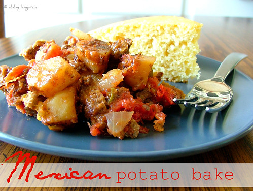 Mexican Potato Bake