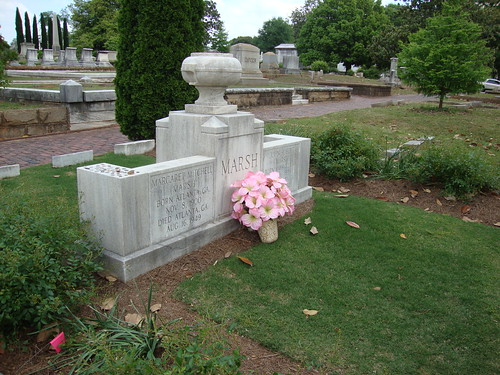 Margaret Mitchell Marsh Monument, Oakland Cemetery, Atlanta GA