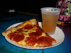Last Stop at Chichos for spicy pizza and beer